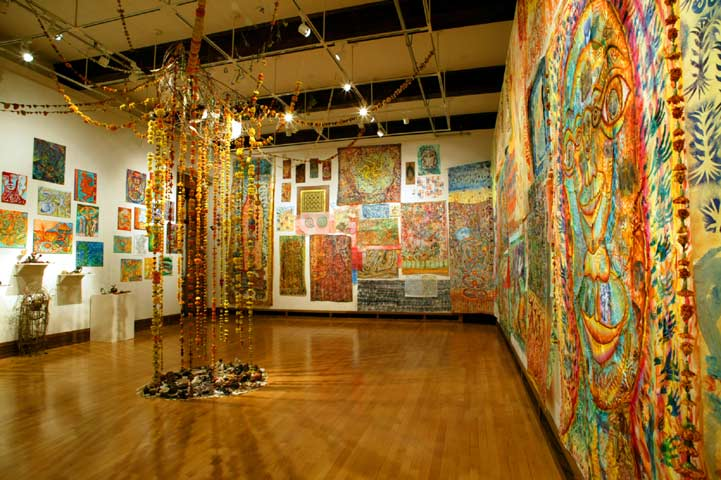 Installation view of Flowebb