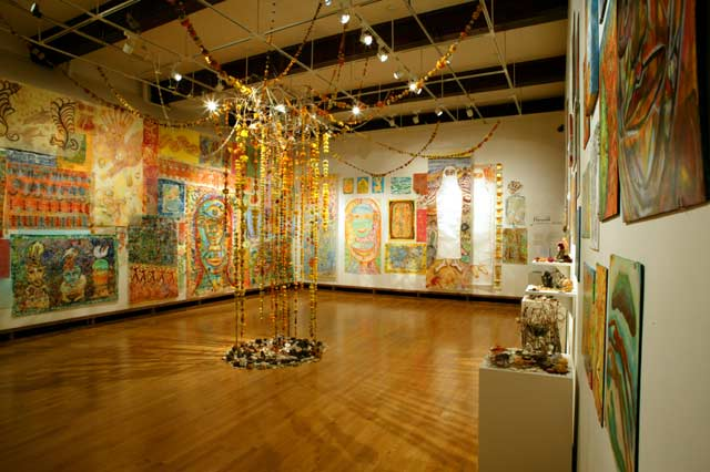 installation view facing southwest